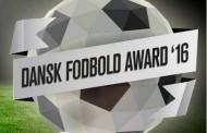 Dansk Fodbold Award 2016 - kvindernes priser