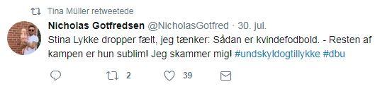 Tweet efter Tyskland