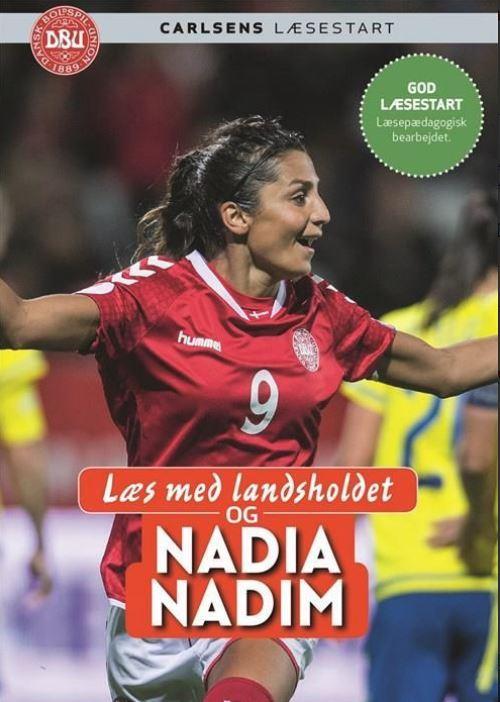 Læs med Landsholdet og Nadia Nadim - bog