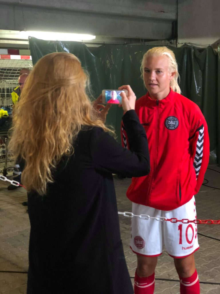 Interview med Pernille Harder