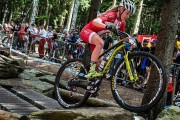 Mountainbikeren Malene Degn har Girlpower