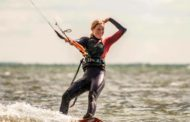 Kitesurfer Therese Taabbel har Girlpower