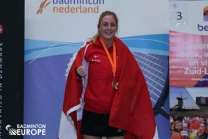 Para-badmintonspiller Cathrine Rosengren har Girlpower
