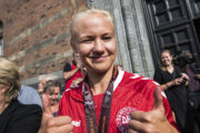 Pernille Harder på Årets Hold i Champions League for tredje år i træk