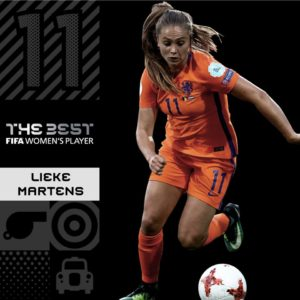 lieke martens the best 2017