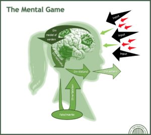 Input og output model The Mental Game