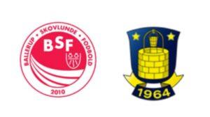 BSF mod Brøndby - kamplogo