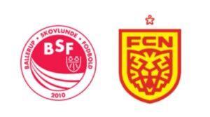 BSF mod FC Nordsjælland - kamplogo