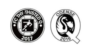 FC Thy - ThistedQ mod Odenseq - kamplogo