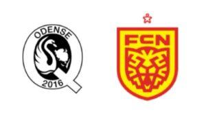 Odenseq mod FC Nordsjælland - kamplogo