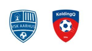 VSK Aarhus mod KoldingQ - kamplogo