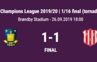 Champions League. Brøndby fighter sig videre til 1/8-delsfinalerne