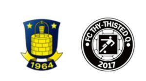 Brøndby mod FC Thy - Thisted Q - kamplogo