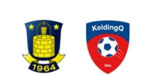 Brøndby mod KoldingQ - kamplogo