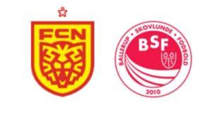FC Nordsjælland mod BSF - kamplogo