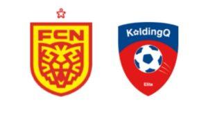 FC Nordsjælland mod KoldingQ - kamplogo