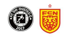 FC Thy - ThistedQ mod FC Nordsjælland - kamplogo