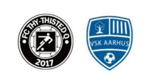 FC Thy - ThistedQ mod VSK Aarhus - kamplogo