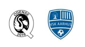 Odenseq mod VSK Aarhus - kamplogo