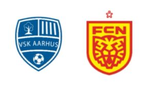 VSK Aarhus mod FC Nordsjælland - kamplogo