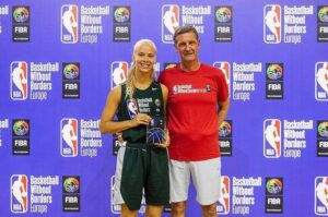 Alberte RImdal MVP Basketball without borders