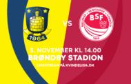 Kvindeligaen Live. Brøndby mod BSF. 13. runde. 7 - 2