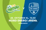 Kvindeligaen Live. Fortuna Hjørring mod VSK Aarhus. 12. rundes Super Match. Lørdag kl. 15.00