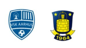 VSK Aarhus mod Brøndby - kamplogo