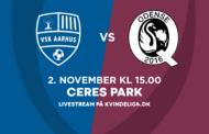 Kvindeligaen Live. VSK Aarhus mod Odense Q. 13. runde. 4 - 0