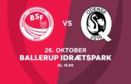 Kvindeligaen Live. BSF mod Odense Q. 12. runde. Lørdag kl. 13.00