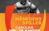 Caroline Møller-Hansen er Månedens Spiller i Kvindeligaen i oktober.
