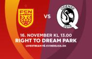 Kvindeligaen Live. FC Nordsjælland mod Odense Q. 14. runde. 3-0