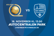 Kvindeligaen Live. KoldingQ mod VSK Aarhus. 14. runde. Lørdag kl. 13.00
