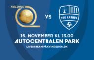 Kvindeligaen Live. KoldingQ mod VSK Aarhus. 14. runde. 0-1
