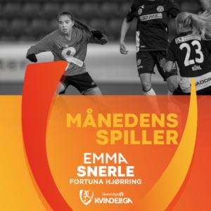 Månedens spiller - november 19 - Emma Snerle