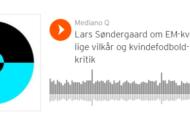 Podcast. Lars Søndergaard i studiet med Arnela Muminovic