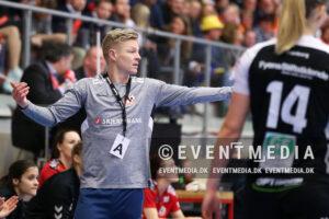 Jesper Jensen landstræner kvindelandsholdet i håndbold