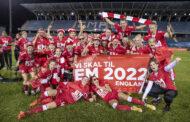 Kvindelandsholdet i fodbold vinder EM-kvalifikationspuljen foran Italien