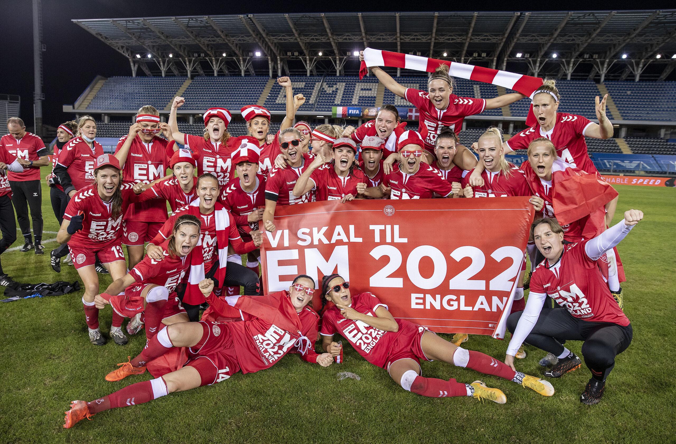 Kvindelandsholdet er klar til EM i fodbold i England