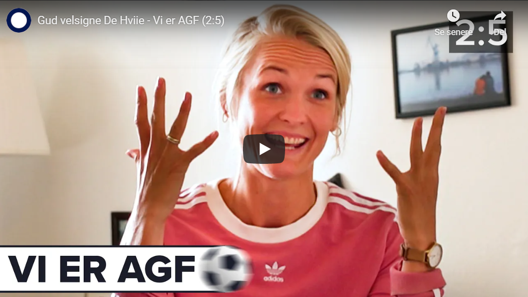 """Dokumentar med AGF Kvindefodbold. Se alle fem afsnit af """"Vi er AGF"""""""