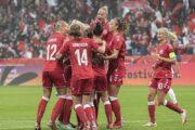 Kvindelandsholdet i fodbold cruiser videre i VM-kvalifikationen med storsejr over Aserbajdsjan