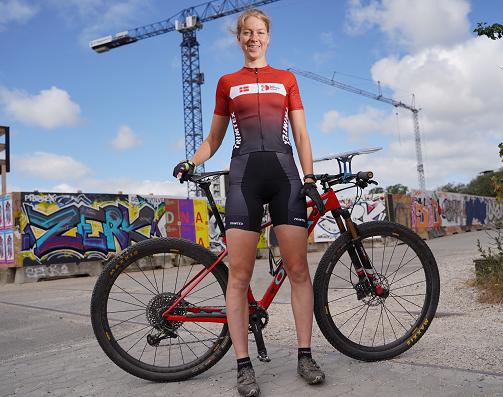 Camilla Søgaard er europamester på langdistancen i mountainbikeorientering
